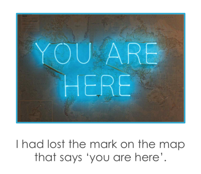I had lost the mark on the map that says 'you are here' - Shantaram