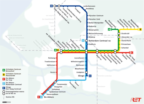RET Rotterdamse metro