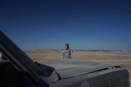 Uitgestorven woestijn