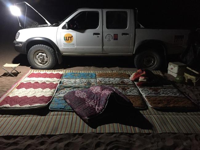 Miljoen sterren camping