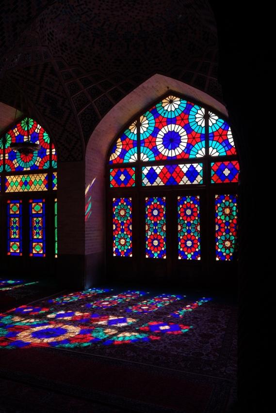 Nasir al Molk, de roze moskee