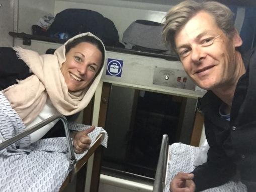 Nachttrein naar Teheran