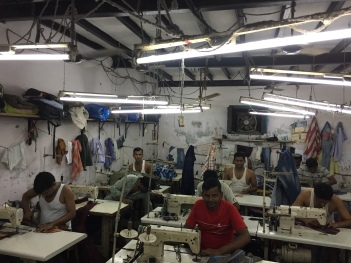 Mumbai sweat shop
