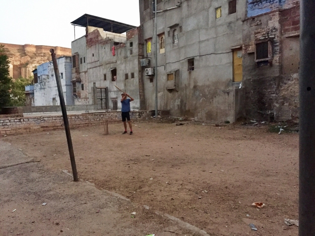 Udaipur street cricket